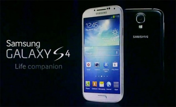 Samsung Galaxy S4 ha il display con Gorilla Glass 3