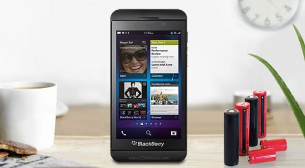 BlackBerry Z10: ecco quanto dura la batteria