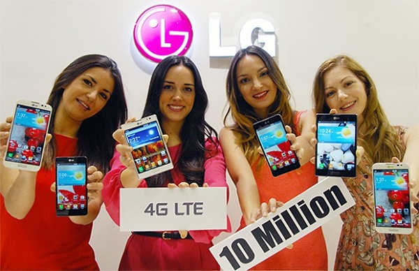 LG Electronics: venduti 10 milioni di smartphone 4G LTE nel mondo