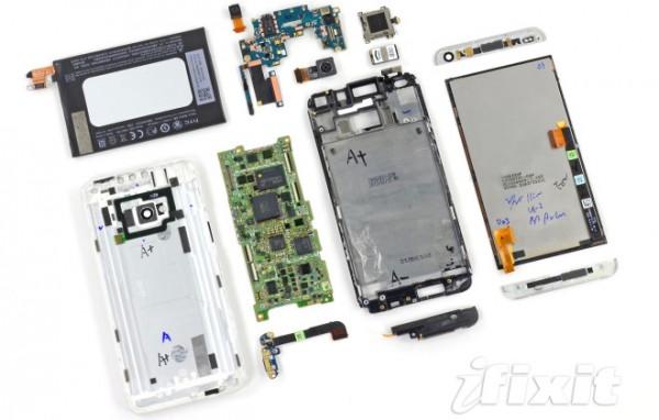 HTC One: ecco com'è fatto dentro