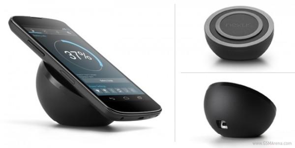 LG Nexus 4: il caricabatterie wireless ufficiale arriva nel Play Store