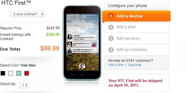 HTC First in vendita negli USA tramite AT&T, nei prossimi mesi in Europa