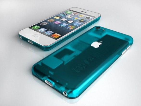 iPhone low cost: nuovo concept con scocca colorata trasparente