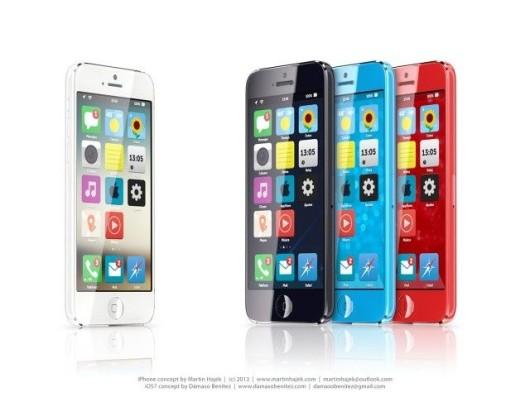 iPhone Color si mostra in nuova immagine concept