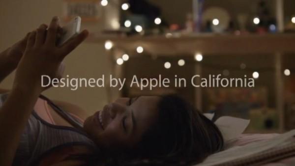 """Apple: nuovo spot pubblicitario """"Designed by Apple in California"""""""