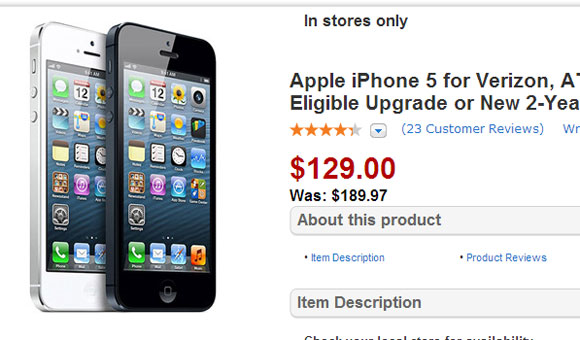 Walmart sconta negli USA l'iPhone 5 e l'iPhone 4S