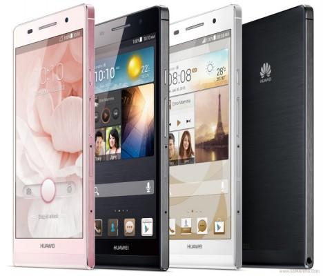 Huawei Ascend P6: è ufficiale lo smartphone più sottile al mondo