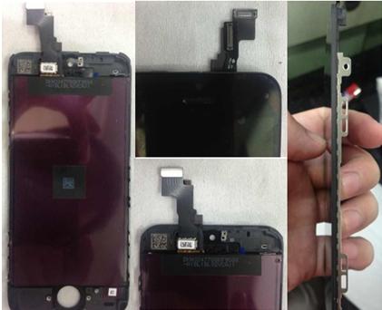 Apple iPhone 5S: immagini del display e della scheda madre
