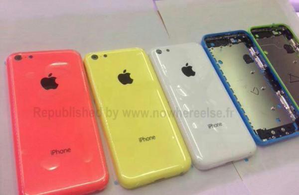 iPhone low cost: nuova foto delle cover colorate
