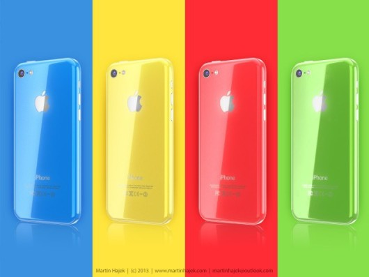 iPhone Color: nuove immagini di concept per l'iPhone low cost