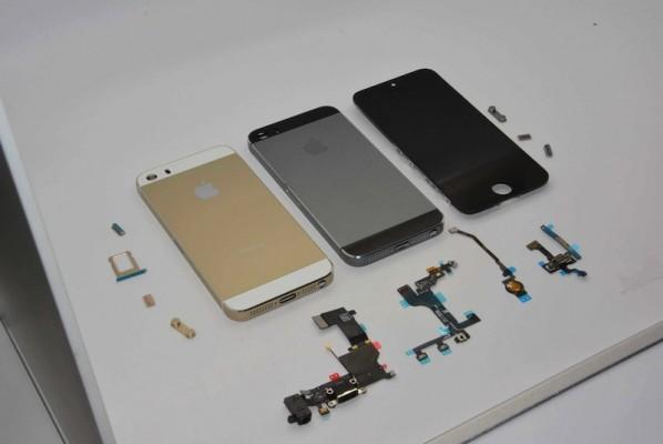 Apple iPhone 5S e iPhone 5C: nuova galleria fotografica dei componenti hardware
