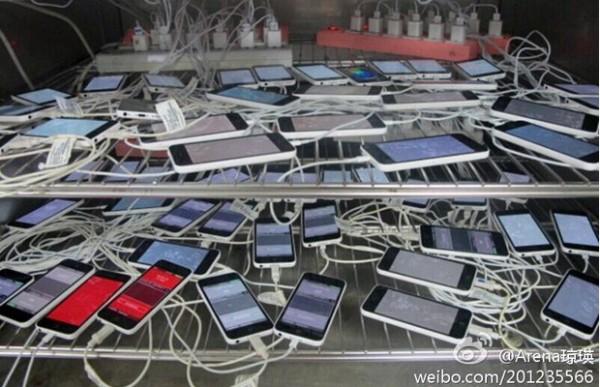 iPhone 5C: nuova foto dal centro d'assembalggio Pegatron