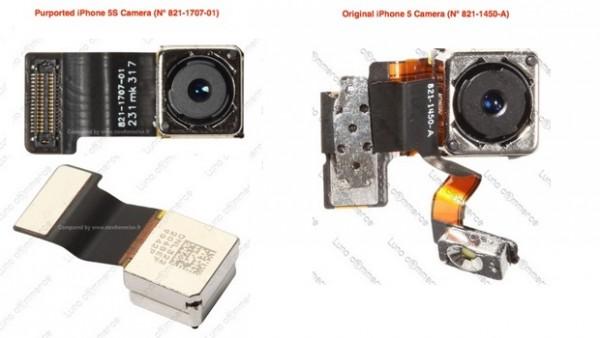 Apple iPhone 5S: nuova immagine della fotocamera posteriore da 13 Megapixel