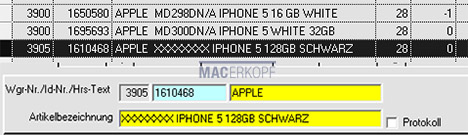iPhone 5S da 128 GB svelato dall'inventario di Media Markt