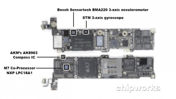 iPhone 5S: il chipset Apple A7 è prodotto da Samsung
