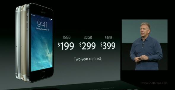 iPhone 5S: ufficiale il nuovo smartphone di Apple, uscita in Italia entro dicembre