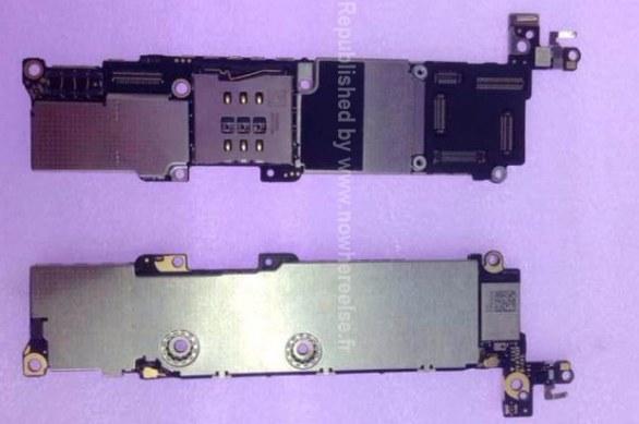 Apple iPhone 5C: nuove immagini della scheda madre