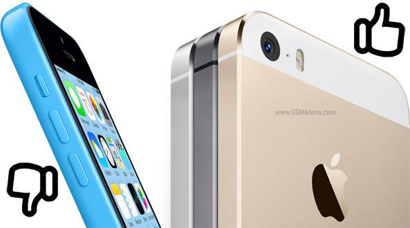 iPhone 5S sold out negli USA, iPhone 5C disponibile senza problemi