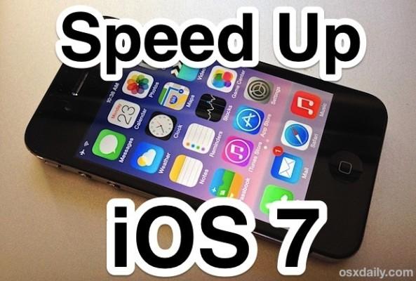 iOS 7 lento, ecco i consigli per migliorare le prestazioni dell'iPhone