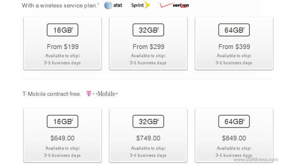 Apple iPhone 5C: migliora la disponibilità negli USA
