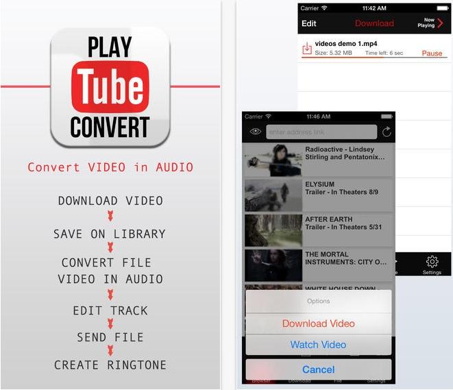 App per scaricare video da youtube con iphone
