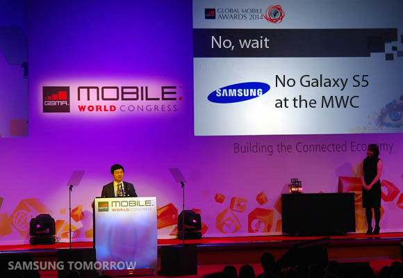 Samsung: niente annuncio del Galaxy S5 al Mobile World Congress 2014