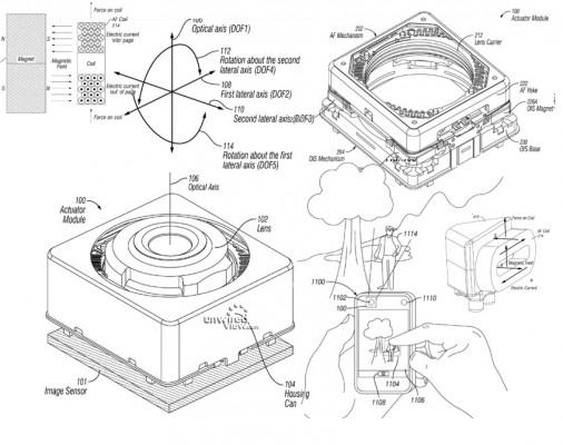 iPhone 6: nuovo brevetto su autofocus e stabilizzatore dell'immagine