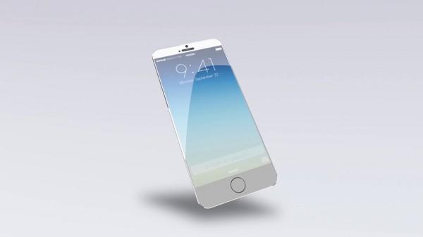 iPhone 6: concept con ricarica tramite energia solare