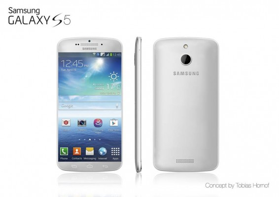 Samsung Galaxy S5 come l'iPhone 5S, sensore biometrico sul tasto Home