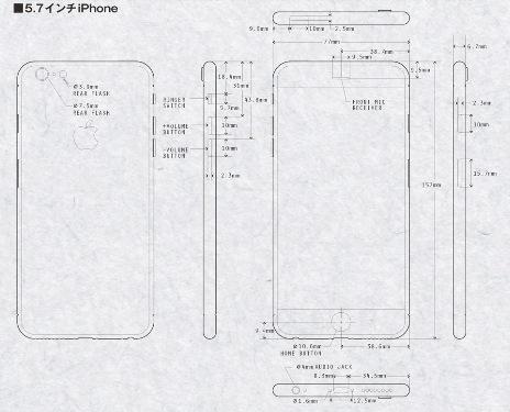 iPhone 6: ecco le immagini dei modelli da 4.7 e 5.7 pollici