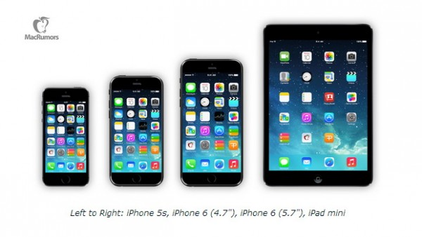iPhone 6: nuove immagini di rendering con display da 4.7 e 5.5 pollici