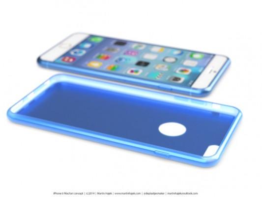 iPhone 6: nuovi rendering 3D del telefono e delle cover