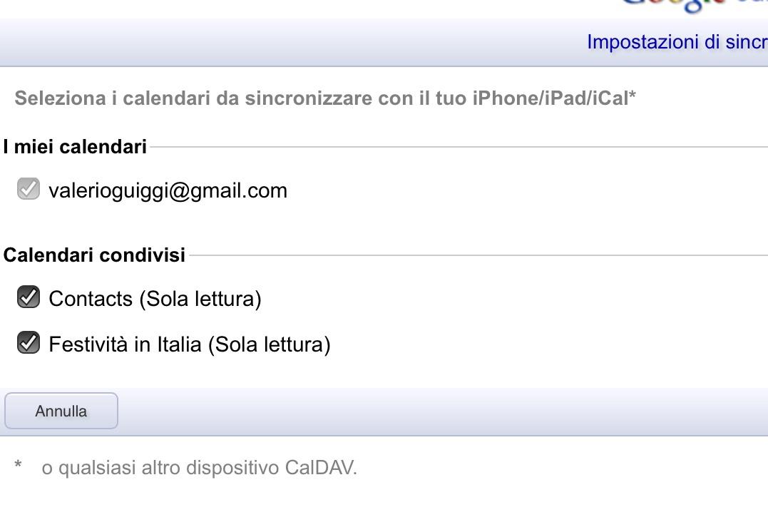 Calendario Condiviso Gmail.Come Visualizzare I Calendari Di Google Calendar Su Iphone
