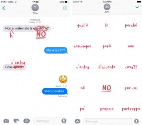 HorrorGrafia: arriva l'app per correggere gli errori nei messaggi degli altri!